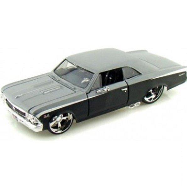 Автомодель MAISTO 1:24 Chevrolet Chevelle SS 396-тюнинг (31333 black/grey)