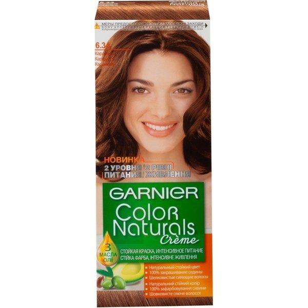 Краска для волос GARNIER Color naturals Стойкая интенсивное питание 6.3