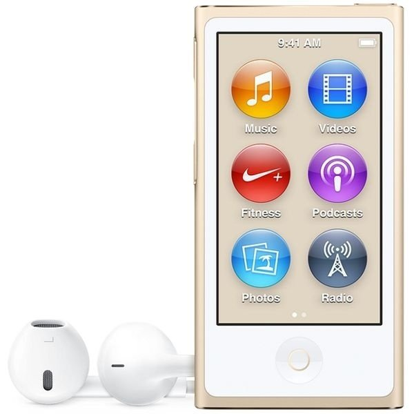 MP3 плеер APPLE iPod nano 16GB Gold (new)