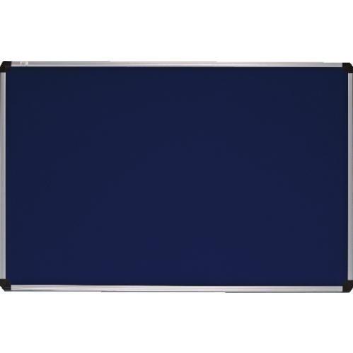 Доска ABC-display текстильная  100х150 см алюминиевая рамка синяя (141015)
