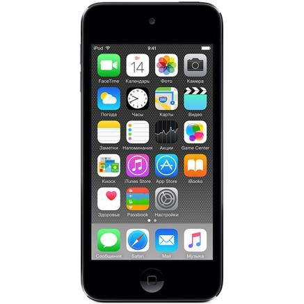 Мультимедиаплеер Apple iPod Touch 16GB Space Gray