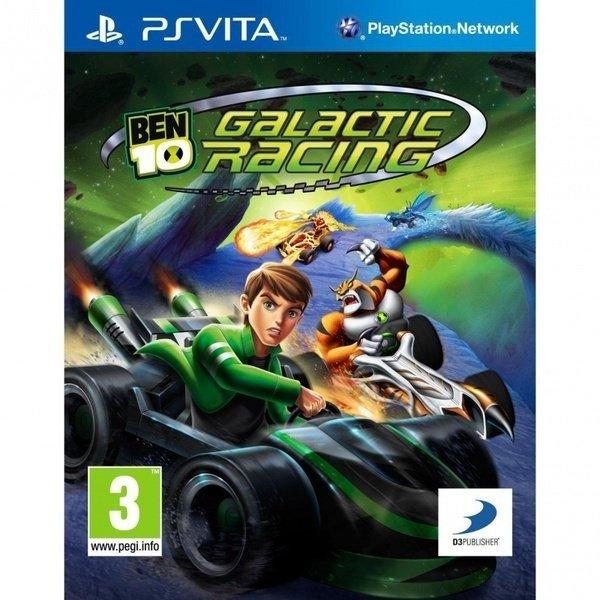 Игра PSP Ben 10 Galactic Racing VITA
