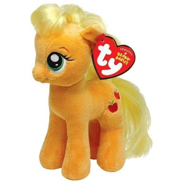 Мягкая игрушка TY MLP Applejack 20 см (41013)