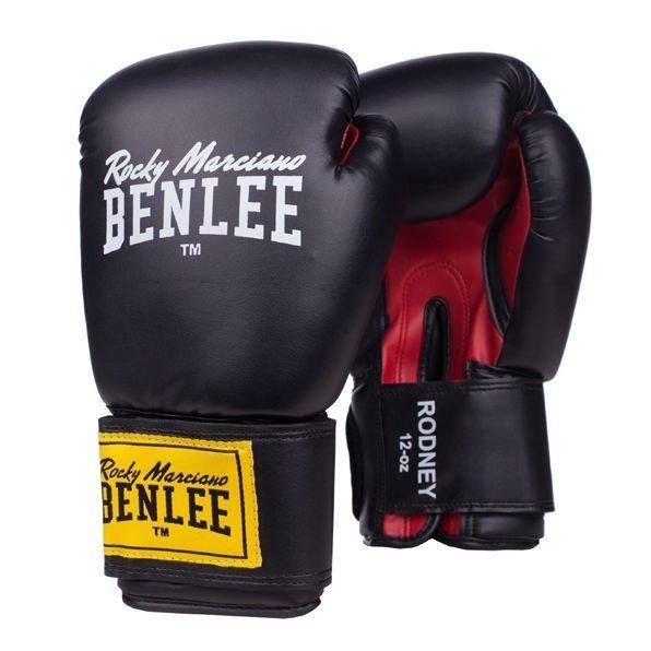 Боксерские перчатки Benlee Rodney 10 ун. (194007/1503) Красный-черный