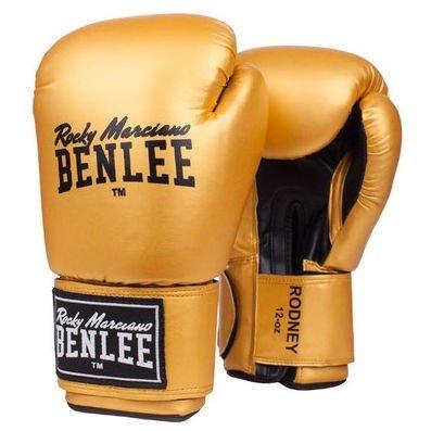Боксерские перчатки Benlee Rodney 12 ун. (194007/6010) Золотой-черный