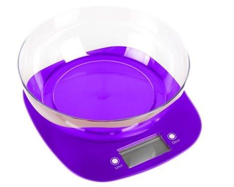 Весы кухонные MAGIO MG-290 фиолетовые