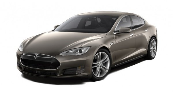 Электроавтомобиль Tesla S 90D титановый металлик