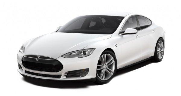 Электроавтомобиль Tesla S 70 белый