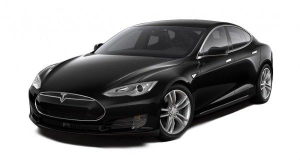 Электроавтомобиль Tesla S 90D вулканический черный металлик