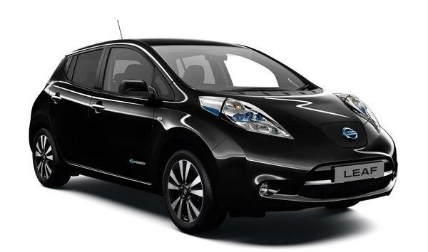 Электроавтомобиль LEAF SL(2014) черный металлик
