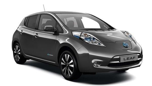 Электроавтомобиль LEAF SV(2015) серый металлик