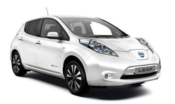 Электроавтомобиль LEAF S(2014) белый металлик