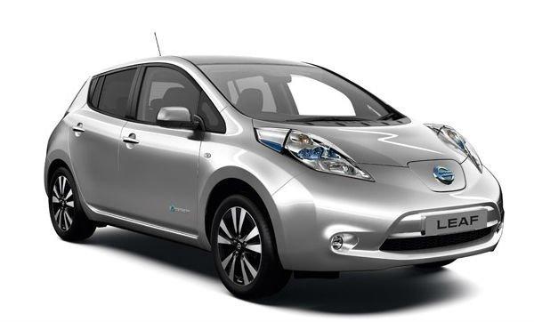 Электроавтомобиль LEAF S(2014) сильвер металлик