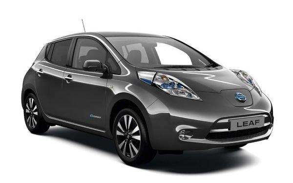 Электроавтомобиль LEAF S(2015) серый металлик