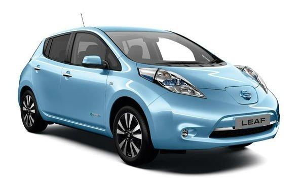 Электроавтомобиль LEAF S(2014) синий металлик