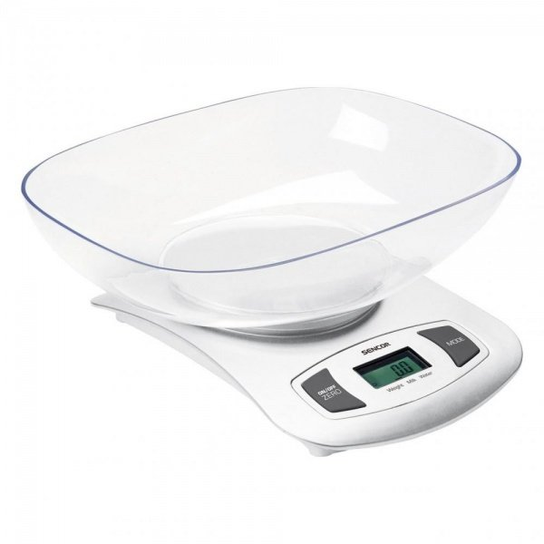 Весы кухонные  Sencor SKS4001WH