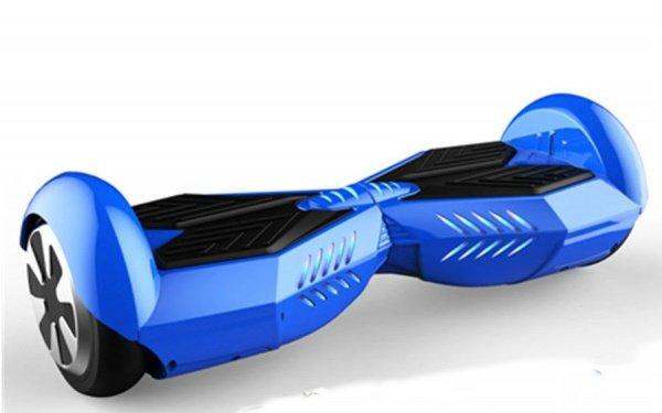 Гироборд ProLogix Base-X 6.5 дюймов с подсветкой и колонкой + пульт и сумка, синий