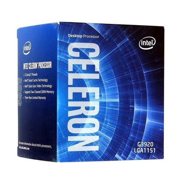 Процесор Intel Celeron G3920 2.9GHz box (BX80662G3920)