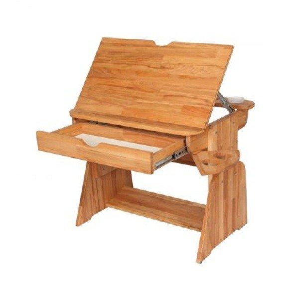 Парта Абсолют-мебель Растишка с ящиком (с-470-1)