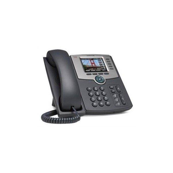 IP-телефон CISCO 5-Line IP Phone with Color Display, PoE, 802.11g, Bluetooth (SPA525G2)