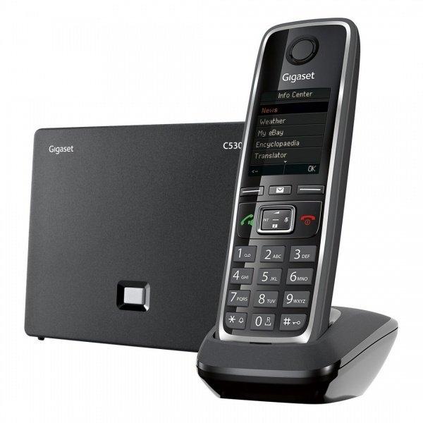 Радиотелефон DECT Gigaset IP-C530A Black (S30852H2526S301)