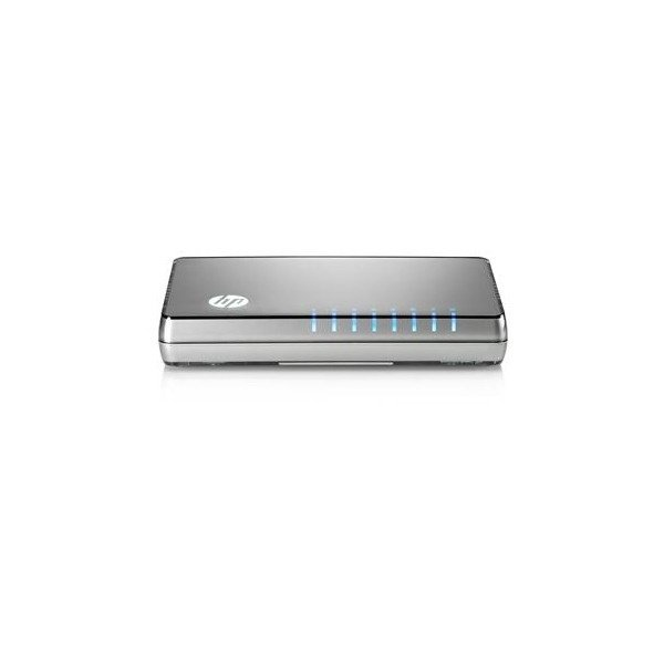 Коммутатор HP 1405-08 v2 Unmanaged Switch, 8x10/100 ports, L2, 3Y Warranty (J9793A)