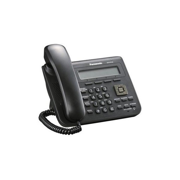 IP-телефон Panasonic KX-UT123RU-B Black (KX-UT123RU-B)