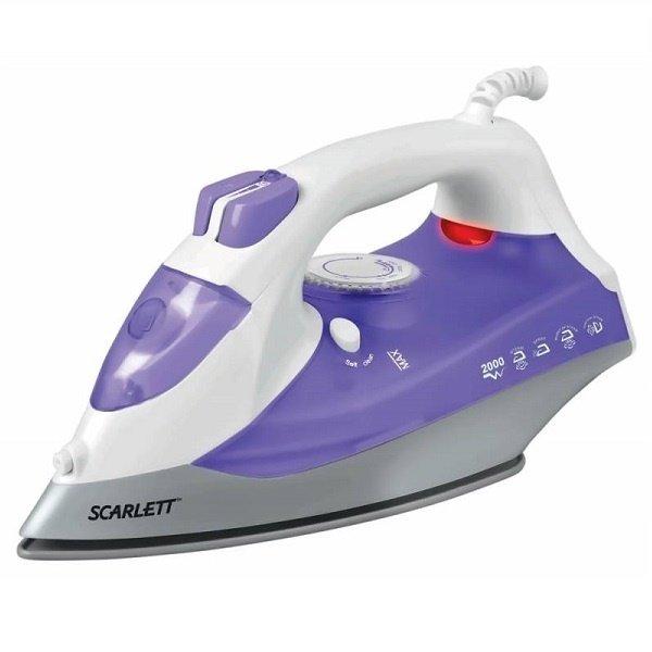 Утюг Scarlett SC-SI30K02 (белый с фиолетовым)