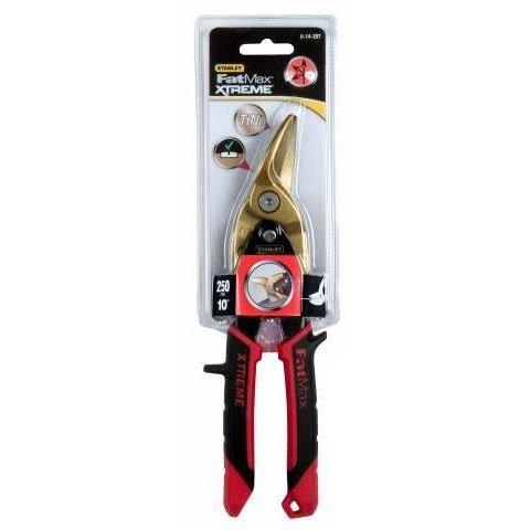 Ножницы по металлу ручные Stanley, левый рез, 250мм (0-14-207)